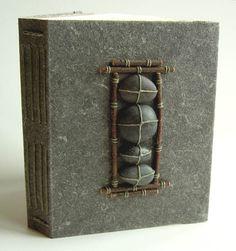 Art Journaling; http://artjournaling.tumblr.com/post/6074669515/bookron-margo-klass-longstitch-binding-via