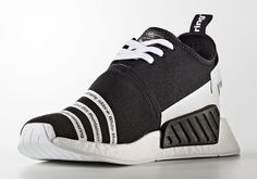 Japanese menswear line White Mountaineering has another adidas Originals capsule coming our way very soon as two stylish colorways of the adidas NMD are currently scheduled for a July release in Asia. Similar to their NMD design from … Continue reading → Adidas Nmd R2, Adidas Sneakers, Nmd Sneakers, Baskets Adidas, Sneaker Games, Unique Shoes, Nike Free Runs, Foot Locker, Running Shoes Nike