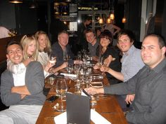 Some of members having fun at one of very first TableCrowd events. Join us at www.tablecrowd.com