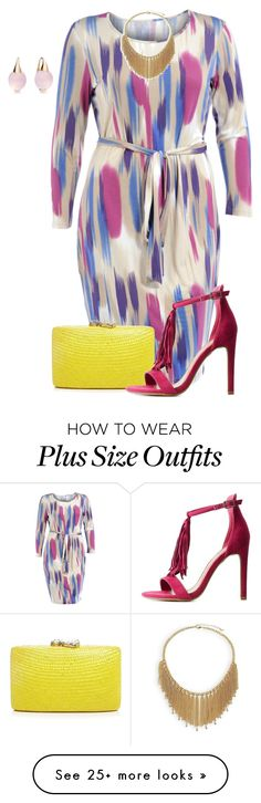 """""""plus size diva"""" by kristie-payne on Polyvore featuring Manon Baptiste, Pomellato, Kayu, ABS by Allen Schwartz and Charlotte Russe"""