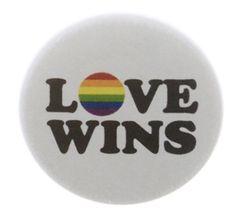 Gay Pride LGBTQ USA President Obama Rainbow LGBT Pin-Back Button 6 Sizes