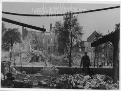 WW2 in the Netherlands - Rotterdam May 14th 1940 - Scheepmakerskade.