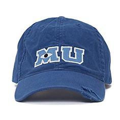 b45ce2be3ec Amazon.com  Disney Monsters University Baseball Cap for Adults  Clothing