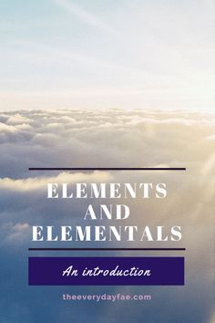 """Elemental faeries tend to have a lot in common with their family """"group"""". They usually have similar jobs or similar modes of transportation or similar goals. Classical Elements, Believe In Magic, Faeries, Transportation, Blogging, About Me Blog, Earth, Goals, Group"""