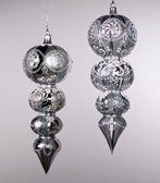 Carnaval Finial Ornament 2 Assorted