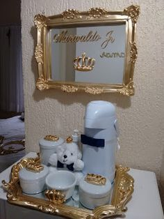 Quarto do Marivaldo Jr Kit Bebe, Baby Kit, Baby Christening, Candle Sconces, Baby Room, Snow Globes, Kids Room, Wall Lights, Nursery