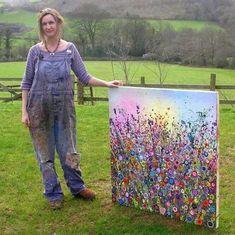 UK Flower Artist Yvonne Coomber