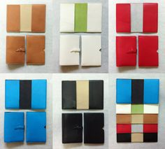 + colourful passport cover made with goatskin and suede  + Colours of each model
