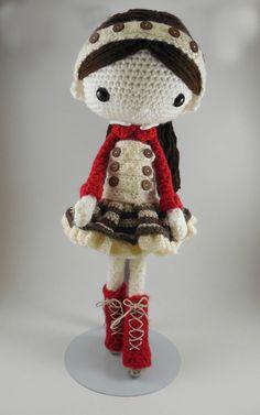 Olivia Amigurumi Doll Crochet Pattern PDF por CarmenRent en Etsy