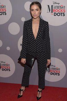 Miss USA Olivia Culpo vestido de festa roxo azul   Vestidos