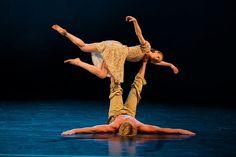 Photo gallery of Czech National Ballet's triple bill: Rain, Vertigo and Cacti - Alina Nanu and Michal Stipa in Rain