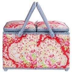 Cath Kidson sewing basket.