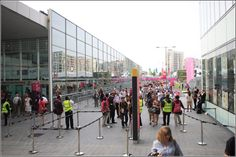 London 2012 - entrance during the summer games - London, UK, Great Britain