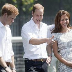 Prince William, Kate, and Harry at Olympic event 2012