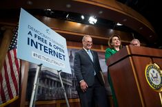 In a move expected to be merely symbolic, the Senate voted Wednesday to approve a resolution that would undo the Federal Communications Commission's repeal of net neutrality rules. Save The Internet, Us Senate, United States Congress, Us Supreme Court, California Wildfires, Circuit Court, Net Neutrality, Federal, Tecnologia