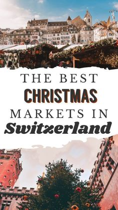 Christmas in Switzerland is truly like walking in a winter wonderland. Add in the merriment of the markets, you can't go wrong. If you're looking for Christmas markets in Switzerland, I have you covered with Magical Christmas, Christmas Fun, Switzerland Christmas, Switzerland Cities, Switzerland Itinerary, Visit Switzerland, Best Christmas Markets, Ski Holidays, Royal Caribbean Cruise
