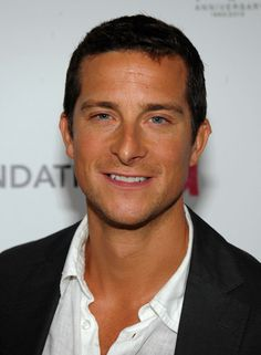 Bear Grylls...People laugh at him now, but if there ever was end of world situation. This guy would survive. lol