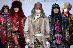 Модный стиль «а-ля рюс».