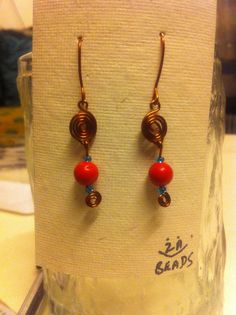 Cute red beads