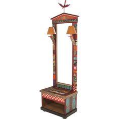 Sticks Cabinet, Hall Tree HLT001, HLT002-S33334, Artistic Artisan Designer Cabinets