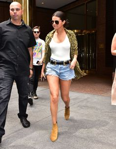 Everyone might be wearing swimsuits and bodysuits under their jean cutoffs nowadays, but let's not forget S...