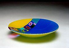 Art Glass Bowl by Barbara Galazzo; like the colors