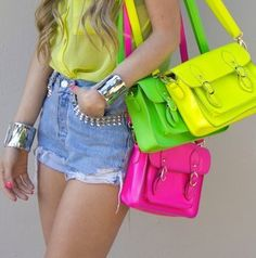 Want all three bags!