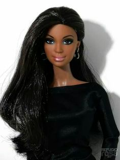 Our wood-based barbie dolls residential home compilation has got a series of different styles and amount, our timber plush animals residences are beautifully detailed inside and out. Beautiful Barbie Dolls, Pretty Dolls, Diva Dolls, Dolls Dolls, African American Dolls, Beanie Babies, Black Barbie, My Black Is Beautiful, Barbie World