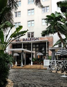 Just pulled up to this enchanting place...The Raleigh Hotel  #POPsurf #MBFW #Miami