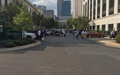 #Charlotte #Police HQ #evacuated after suspicious package found...