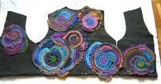 Solange Bonnet - encours freeform crochet - work in progress