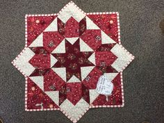 Swoon Block Table Topper Workshop The famous Swoon pattern comes from a traditional Block called the Dutch Rose and uses half square triangles laid out to create a star shaped block.   Fabric and pattern will be provided and you will be taught by either Julie or Sue. You will need your own machine, threads, wadding and backing fabric or you can choose from the stock in the shop if you prefer. Block Table, Half Square Triangles, Table Toppers, Star Shape, November, Workshop, Layout, Shapes, Quilts