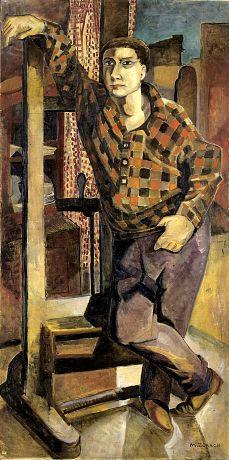 MARGUERITE ZORACH Portrait of Bill (Bill Zorach, c.1925)