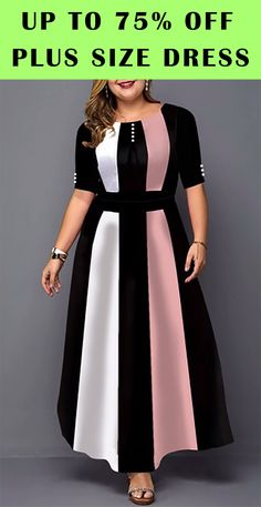 cute plus size dress for Formal Dresses With Sleeves, Plus Size Dresses, Plus Size Outfits, Latest African Fashion Dresses, Women's Fashion Dresses, Dress Outfits, Plus Size Womens Clothing, Clothes For Women, Plus Size Fashion Blog