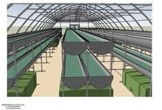 BioFarm Greenhouse Array 1920' Sq. Ft. Vertical