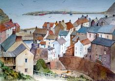 Malcolm Coils. Staithes from Cowbar