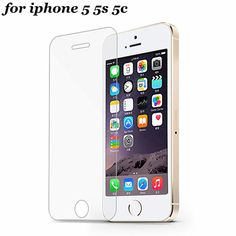 9H 0.3mm 2.5D Arc Tempered Glass Screen Protector for iPhone 5s 5 5c SE Explosion Proof Toughened Protective Film For iPhone 5