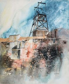 Home – John Blockley Source by Watercolor Artists, Watercolor Paintings, Watercolors, Urban Landscape, Abstract Landscape, Industrial Paintings, Collage Art, Collage Ideas, Beautiful Paintings