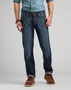 Lucky Brand 221 Original Straight Jeans - OL Lipservice - Lucky Brand Jeans