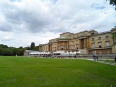 Inside the Buckingham Palace
