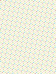 Delightful Distractions: Printable Polka Dot Patterns... for making washi tape stickers