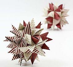 Weihnachtsdekoration aus Papier                                                                                                                                                                                 Mehr