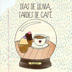 Que me depara el destino???  Dias de lluvia y Tardes de Café!!!