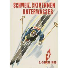 1940 Vintage Ski Posters VALLOIRE SAVOIE Art Deco A3 Travel Print France