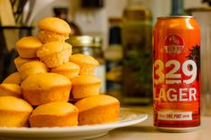 329 Days of Citrus Cupcakes are made from Golden Road Brewery's 329 Days of Sun…