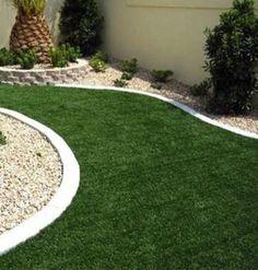 Artificial Turf: 6 Reasons to Consider the New Grass Alternative Artificial Turf: 7 Reasons to consi Garden Edging, Lawn And Garden, Garden Beds, Grass Alternative, No Grass Backyard, Artificial Turf, Front Yard Landscaping, Landscaping Ideas, Diy Garden Decor