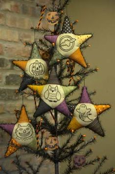 Halloween Star Ornaments