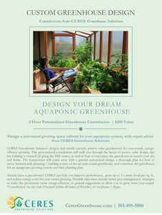 Personalized greenhouse design consulting! - One of the many generous gifts for the silent auction at the Farm-to-Table Dinner at AquaponicsFest 2014. Thank you to all our kind contributors! Tickets are still available to the Fest. Live streaming for those who can't make it in person. http://www.AquaponicsFest.com. #aquaponics #gardening #fish