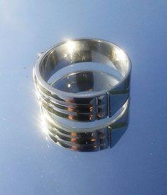 ae4c7f249 Svadobné Atlantské obrúčky - strieborné 925/1000 / PetoValentovic. Obrúčky Šperky