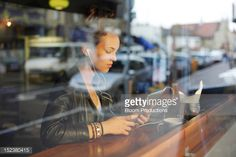 Girl Using Technology Stock Photo | Getty Images
